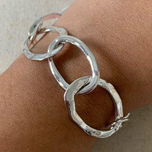 Chloe + Isabel Silver Chain Bracelet